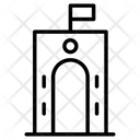 Gate Way Gate Construction Icon