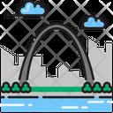 Gateway Arch Arch Gateway Icon