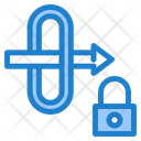 Gateway Security Gateway Lock Icon