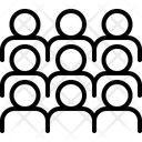 Gather Congregate Collect Icon