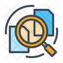 Gathering Info Research Analysis Icon