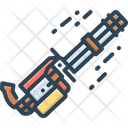 Gatling Gun Minigun Icon