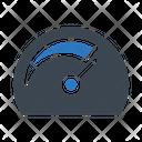 Performance Speed Gauge Icon