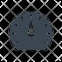 Time Gauge Meter Icon