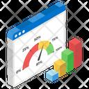 Gauge Chart Icon