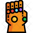 Gauntlet Weapon Superhero Icon