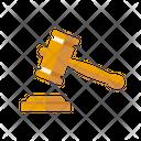 Gavel Hammer Justice Icon