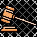 Gavel Hammer Law Icon