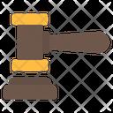 Gavel Hammer Judge Icon