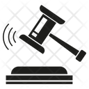 Gavel Judge Hammer Icon