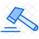 Gavel Crime Law Icon