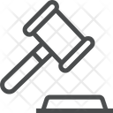 Hammer Court Justice Icon