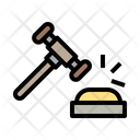 Gavel Law Justice Icon