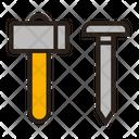 Gavel Nail Gavel Hammer Icon