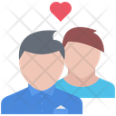 Couple People Heart Icon
