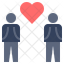 Man Gay Heart Icon