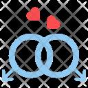 Gay Couple Romantic Icon