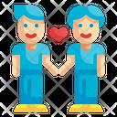 Gay Couple Icon