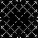 Gaze Stare Ogle Icon
