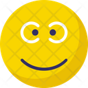 Gaze Emoticon Icon