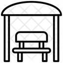 Gazebo Pavilion Structure Icon
