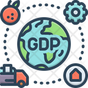 Gdp Icon
