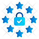 Law Privacy Lock Icon