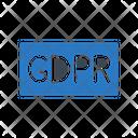 Gdpr General Data Icon