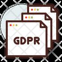 Gdpr Gdpr File Gdpr Document Icon