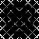 Profile Data Protection Shield Icon