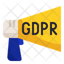 Gdpr Announcement Data Icon