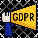 GDPR Announcement Icon