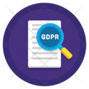 Gdpr Audit Gdpr Documet Icon