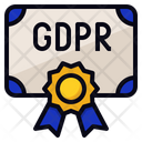 GDPR  Certification Icon