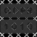 Data Gdpr Personal Icon