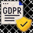 GDPR Data Protection Icon