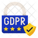 GDPR Data Security Icon