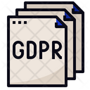 Gdpr Document Rules Icon