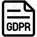 Document File Gdpr Icon