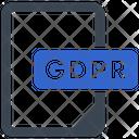 Compliance Gdpr Document Icon