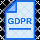 Gdpr File Gdpr Document Gdpr Icon
