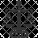 Gdpr Justice Law Icon