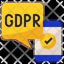 GDPR  Mobile Icon
