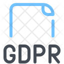 Gdpr Document Protection Icon