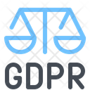 Gdpr Of Justice Icon
