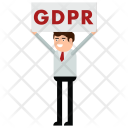 GDPR poster Icon