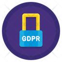Gdpr Protection Data Eu Icon