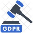 Gdpr Law Rules Icon