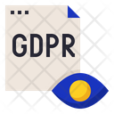 Gdpr Transparency Information Icon