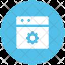 Gear Web Customize Icon